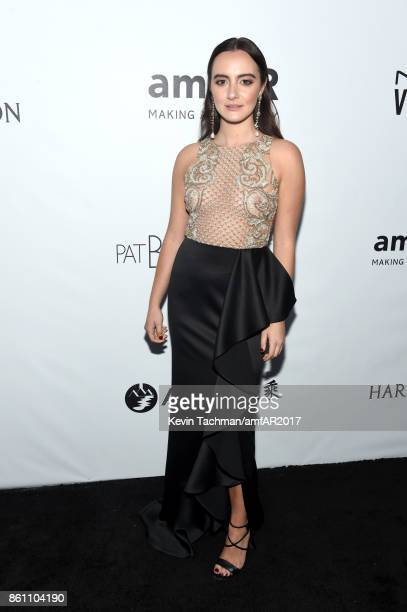 Olivia Perez at amfAR Los Angeles 2017 at Ron Burkle's Green Acres Estate on October 13 2017 in Beverly Hills Californi