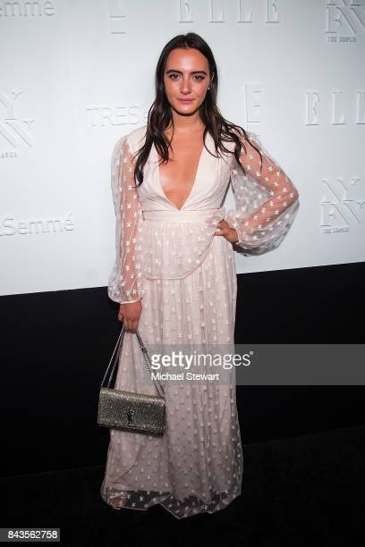 Olivia Perez attends ELLE E IMG host A Celebration of Personal Style NYFW Kkickoff Party on September 6 2017 in New York City