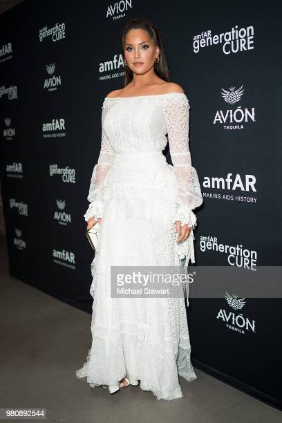 Olivia Pierson attends amfAR GenCure Solstice 2018 at SECOND on June 21 2018 in New York City