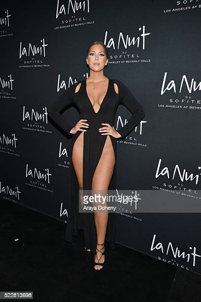 Olivia Pierson attends LA NUIT by Sofitel Los Angeles at Beverly Hills at Sofitel Hotel on April 20 2016 in Los Angeles California