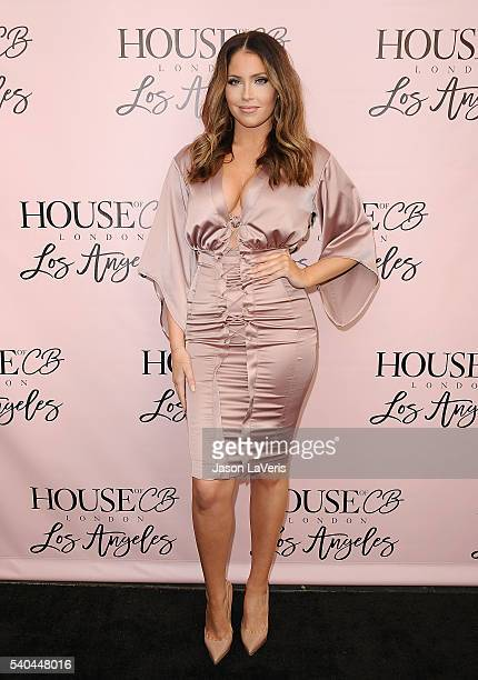 Olivia Pierson attends the House of CB flagship store launch at House Of CB on June 14 2016 in West Hollywood California