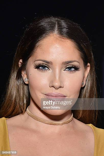 Olivia Pierson attends the PrettyLittleThingcom #PLTxUSA launch party on July 7 2016 in Los Angeles California