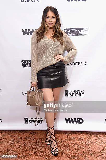 Olivia Pierson attends the WWD and Lands' End celebrate the Canvas by Lands' End Fall Collection on September 7 2016 in New York City