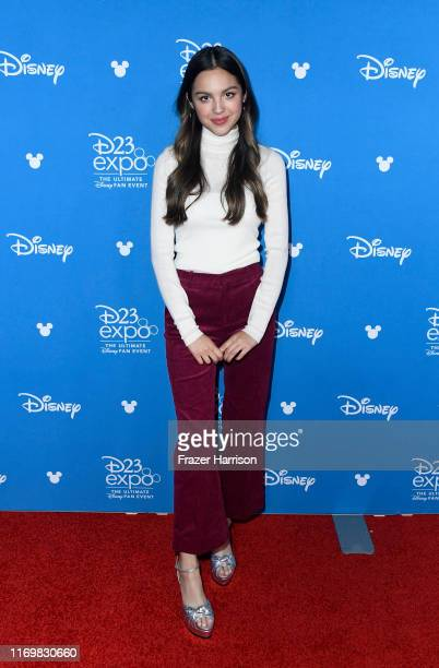 Olivia Rodrigo attends D23 Disney Legends event at Anaheim Convention Center on August 23 2019 in Anaheim California