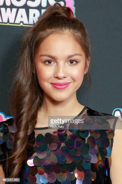 Olivia Rodrigo attends the 2018 Radio Disney Music Awards at Loews Hollywood Hotel on June 22 2018 in Hollywood California