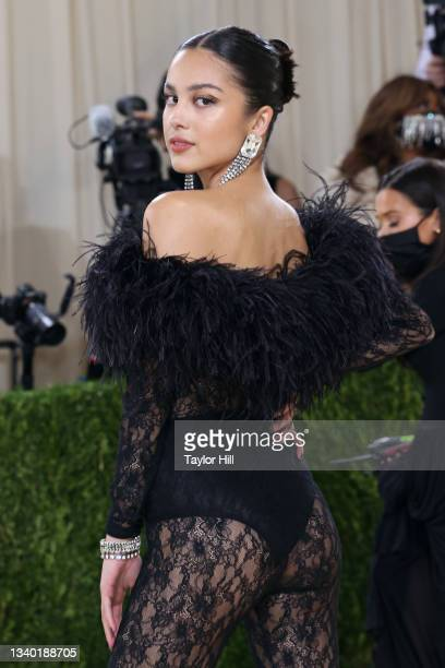 """Olivia Rodrigo attends the 2021 Met Gala benefit """"In America: A Lexicon of Fashion"""" at Metropolitan Museum of Art on September 13, 2021 in New York..."""