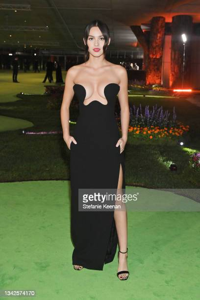 Olivia Rodrigo attends the Academy Museum of Motion Pictures: Opening Gala honoring Haile Gerima and Sophia Loren, and Museum Campaign Leadership Bob...