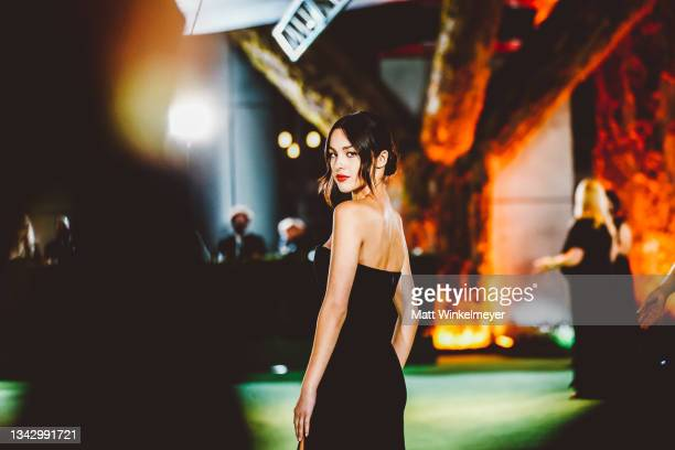 Olivia Rodrigo attends The Academy Museum of Motion Pictures Opening Gala at Academy Museum of Motion Pictures on September 25, 2021 in Los Angeles,...