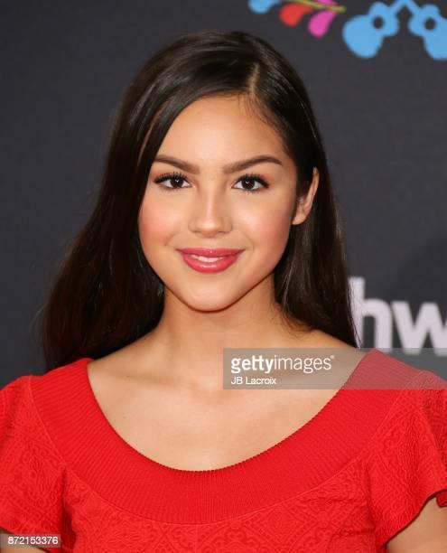 Olivia Rodrigo attends the premiere of Disney Pixar's 'Coco' on November 8 2017 in Los Angeles California