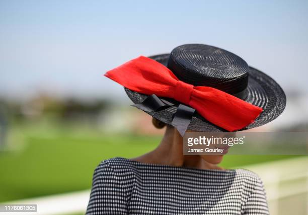 Olivia Rogers attends Colgate Optic White Stakes Day at Royal Randwick Racecourse on September 21 2019 in Sydney Australia