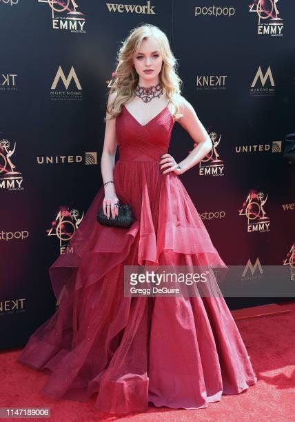 Olivia Rose Keegan attends the 46th annual Daytime Emmy Awards at Pasadena Civic Center on May 05 2019 in Pasadena California