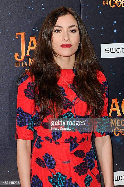 Olivia Ruiz attends the 'Jack Et La Mecanique Du Coeur' Paris Premiere at UGC Normandie on January 26, 2014 in Paris, France.