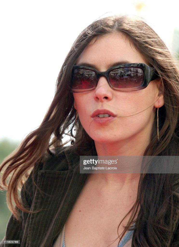 2006 Cannes Film Festival - Olivia Ruiz and Jean Pierre Marielle Visit TMC