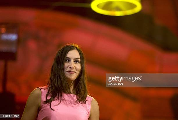 "Olivia Ruiz during the tribute concert 'Planet Nougaro' In Toulouse, France On September 09, 2009-Olivia Ruiz sings Nougaro, the star of the ""Planet..."