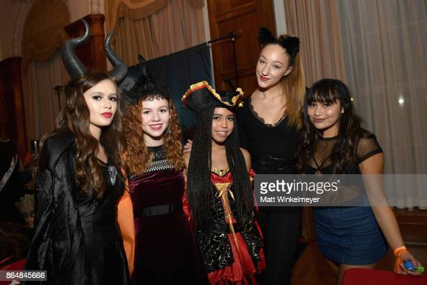 Olivia Sanabia Abby Donnelly Asia Monet Ray Ava Cota and guest at the Dream Halloween 2017 Costume Party Benefitting Starlight Children's Foundation...