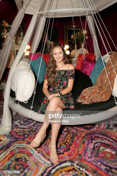 Olivia Sanabia at Backstage Creations Celebrity Retreat At Teen Choice 2018 Day 1 at The Forum on August 11 2018 in Inglewood California