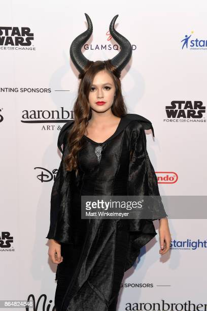 Olivia Sanabia at the Dream Halloween 2017 Costume Party Benefitting Starlight Children's Foundation presented by Michaels and Aaron Brothers at The...
