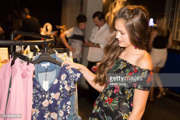 Olivia Sanabia attends Backstage Creations Celebrity Retreat At Teen Choice 2018 Day 1 at The Forum on August 11 2018 in Inglewood California