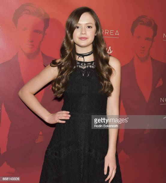 Olivia Sanabis attends Noah Urrea's 16th Birthday with EP Release Party at Avalon Hollywood on March 26 2017 in Los Angeles California