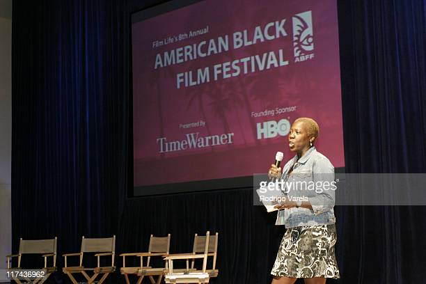 Olivia Smashum from HBO during 2004 American Black Film Festival Lackawanna Blues From The Stage To The Screen at Loews Hotel in Miami Beach Florida...