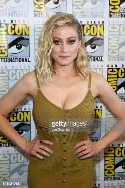 Olivia Taylor arrives at 'The Magicians' press line at ComicCon International 2017 on July 22 2017 in San Diego California