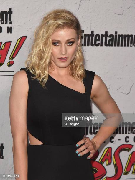 Olivia Taylor Dudley attends Entertainment Weekly's annual ComicCon party in celebration of ComicCon 2017 at Float at Hard Rock Hotel San Diego on...