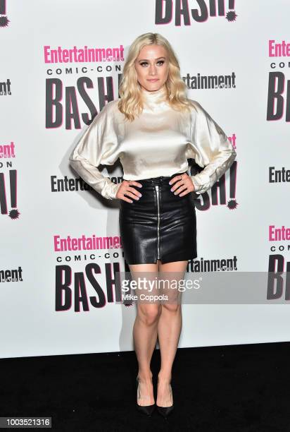 Olivia Taylor Dudley attends Entertainment Weekly's ComicCon Bash held at FLOAT Hard Rock Hotel San Diego on July 21 2018 in San Diego California...