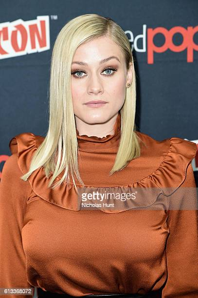 Olivia Taylor Dudley attends Syfy the Magicians panel during the 2016 New York Comic Con on October 8 2016 in New York City