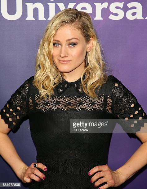 Olivia Taylor Dudley attends the 2017 NBCUniversal Winter Press Tour Day 1 at Langham Hotel on January 17 2017 in Pasadena California