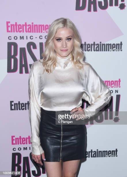 Olivia Taylor Dudley attends the annual Entertainment Weekly ComicCon Celebration at Float at Hard Rock Hotel San Diego on July 21 2018 in San Diego...