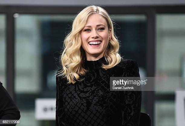 Olivia Taylor Dudley attends the Build Series to discuss the show 'The Magicians' at Build Studio on January 19 2017 in New York City