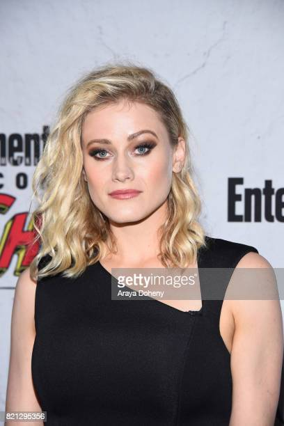 Olivia Taylor Dudley attends the Entertainment Weekly's Annual ComicCon Party 2017 at Float at Hard Rock Hotel San Diego on July 22 2017 in San Diego...