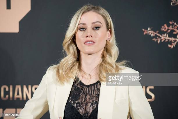 Olivia Taylor Dudley attends the third season of 'The Magicians' photocall at Santo Mauro Hotel in Madrid on Feb 7 2018