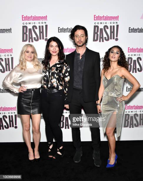 Olivia Taylor Dudley Sera Gamble Hale Appleman and Summer Bishil attend Entertainment Weekly's ComicCon Bash held at FLOAT Hard Rock Hotel San Diego...