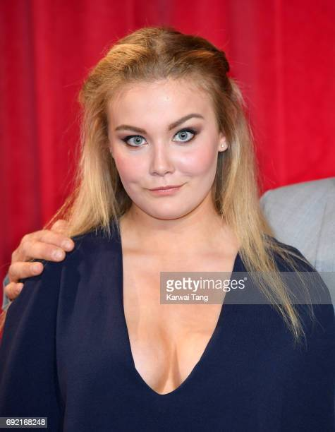 Olivia Thomson attends the British Soap Awards at The Lowry Theatre on June 3 2017 in Manchester England