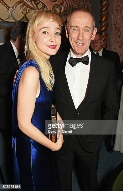 Olivia Vinall and Sir Nicholas Hytner attend The 62nd London Evening Standard Theatre Awards after party recognising excellence from across the world...