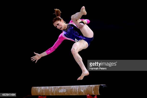Olivia Vivian of Australia competes in the Women's AllRound Final during day seven of the Glasgow 2014 Commonwealth Games on July 30 2014 in Glasgow...