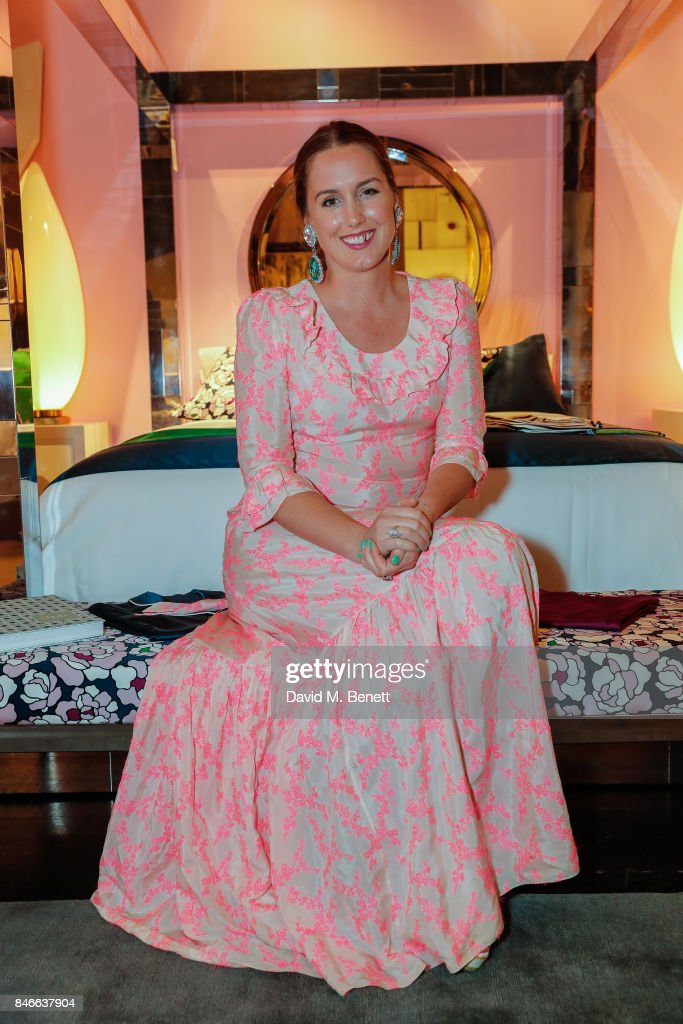 Olivia Von Halle attends the 'Designed At Talisman' designer exhibition during the London Design Festival 2017 at Talisman, New Kings Road, on September 13, 2017 in London, England.