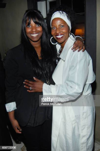 Olivia Washington and Pauletta Washington attend TISCH SCHOOL SUMMER SOIREE HOSTED BY BRETT RATNER at Private Residence on June 3 2009 in Beverly...