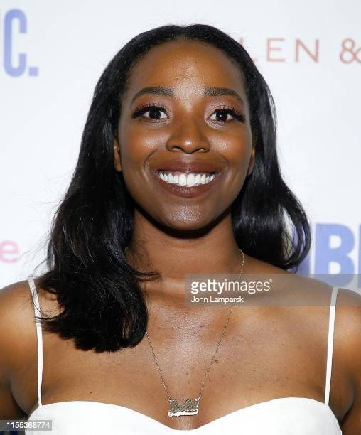 Olivia Washington attends Much Ado opening night at Delacorte Theater on June 11 2019 in New York City