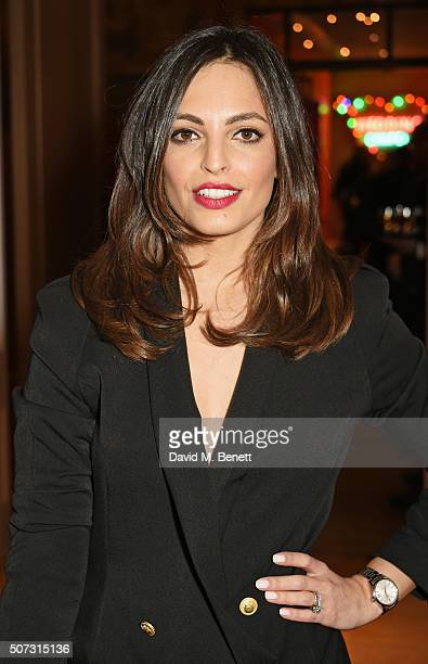 Olivia Wayne attends a special screening of Concussion hosted by Will Smith Susanna Reid and Brian Moore at The Ham Yard Hotel on January 28 2016 in...