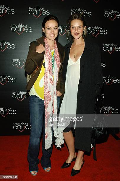 Olivia Wilde and Beau Garrett