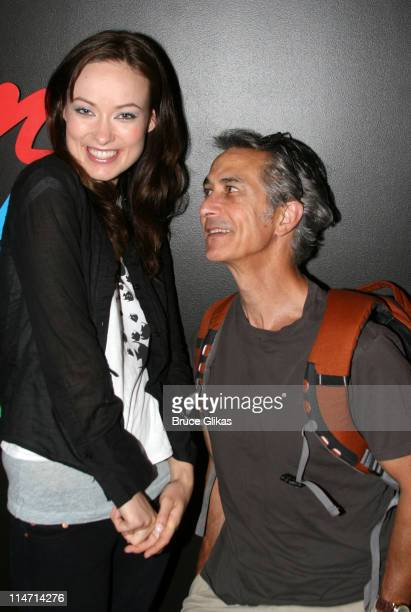 Olivia Wilde and David Strathairn during David Strathairn joins 'Beauty on the Vine' Off Broadway May 29 2007 at The Epic Theater Center in New York...