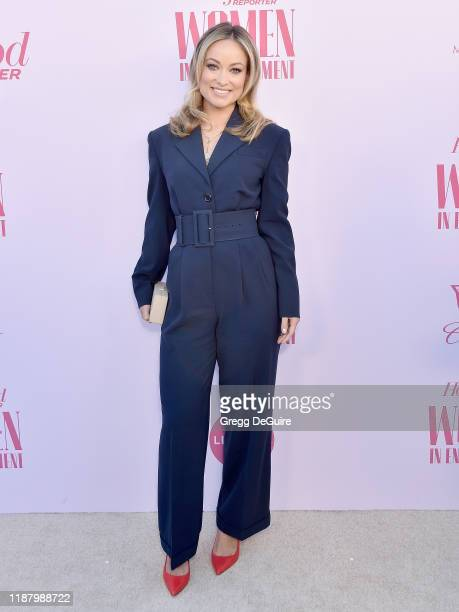 Olivia Wilde arrives at The Hollywood Reporter's Annual Women in Entertainment Breakfast Gala at Milk Studios on December 11 2019 in Hollywood...