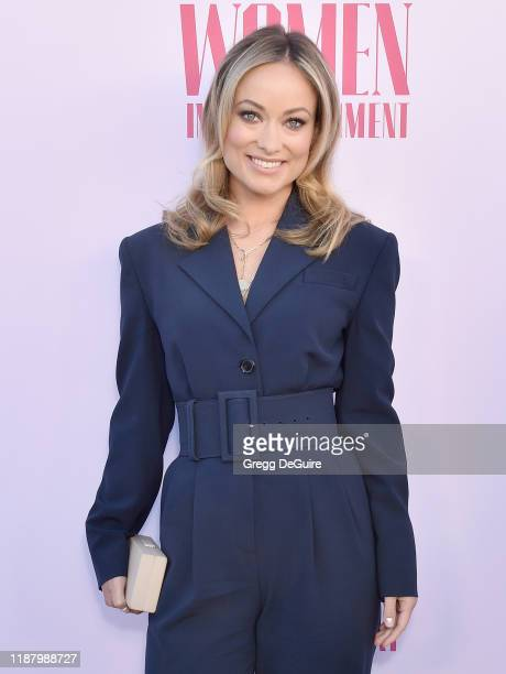 Olivia Wilde arrives at The Hollywood Reporter's Annual Women in Entertainment Breakfast Gala at Milk Studios on December 11, 2019 in Hollywood,...