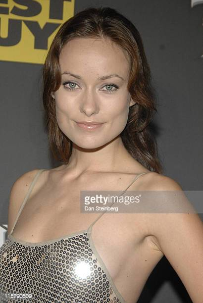 Olivia Wilde at the Guitar Hero III Halloween launch party at Best Buy on October 27 2007 in Los Angeles California