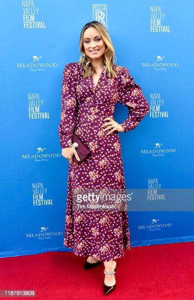 Olivia Wilde attends A Tribute to Olivia Wilde during 2019 Napa Valley Film Festival at Raymond Vineyards on November 15 2019 in St Helena California