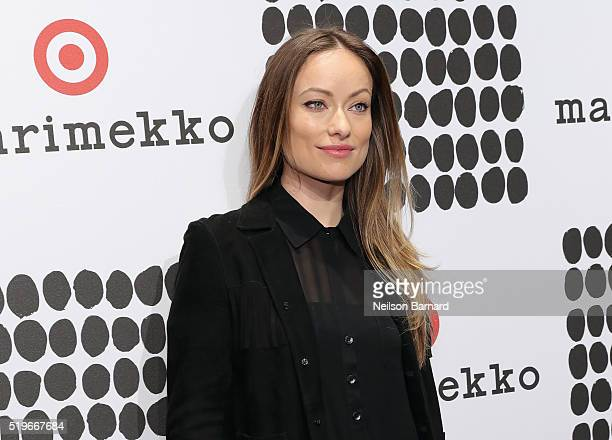 Olivia Wilde attends Marimekko For Target Launch Celebration at The High Line on April 7 2016 in New York City
