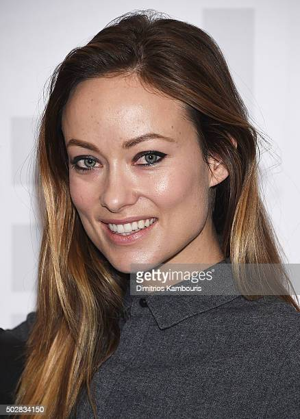 Olivia Wilde attends Meadowland New York Screening and QA at Museum of Modern Art on December 29 2015 in New York City