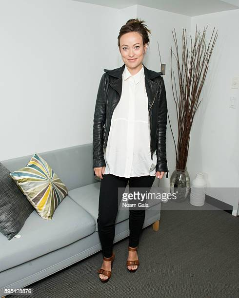 Olivia Wilde attends SAGAFTRA Foundation's The Business to discuss 'WOMAN' at NYIT Auditorium on Broadway on August 25 2016 in New York City